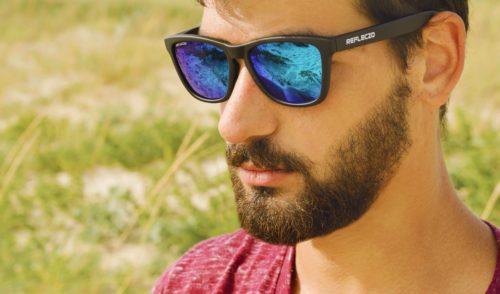 Oculos de Sol Espelhados Azuis Polarizados Baratos